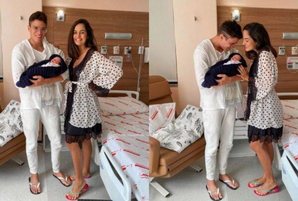 Nasce o primeiro filho de Marcos Lessa e Jeycielle Oliveira