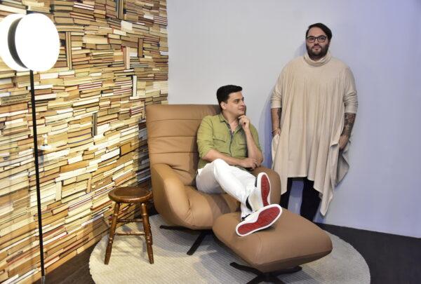 Desconexo Design inaugura showroom inspirado em paleta de cores bege