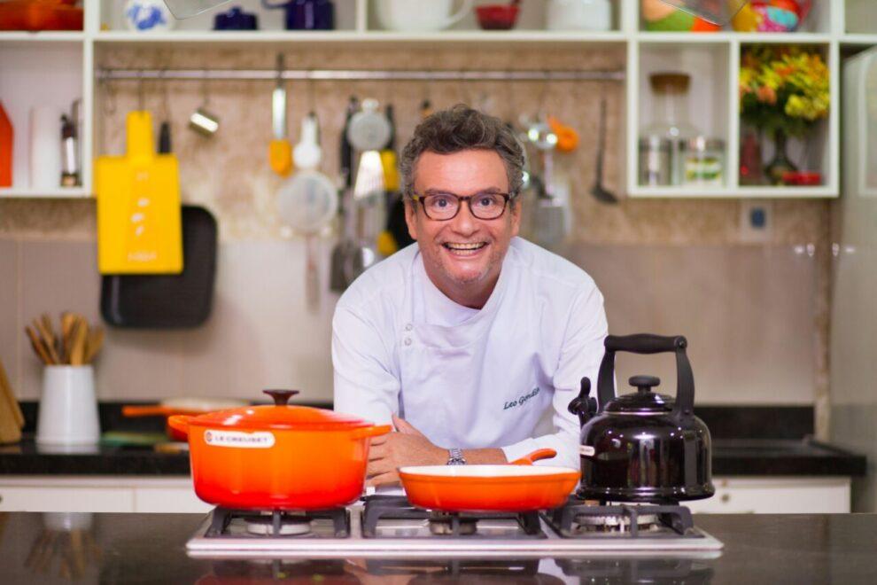 Léo Gondim ensina receita de tilápia com farofa de pão de coco