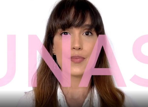 Rebeca Sampaio cria campanha que alerta sobre aumento da violência doméstica