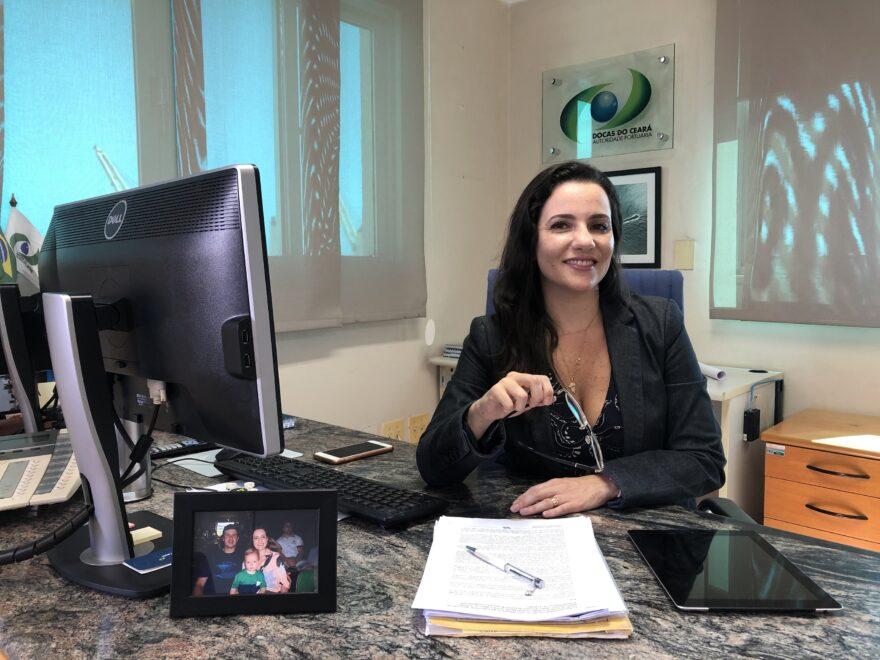 Primeira mulher a presidir associação nacional de portos, Mayhara Chaves quer reduzir taxas e impostos no setor