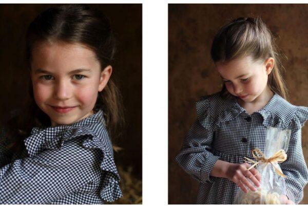 Princesa Charlotte comemora aniversário de 5 anos com fotos inéditas