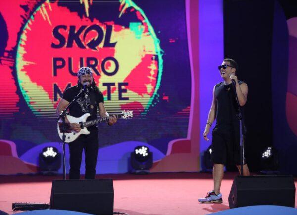 Wesley Safadão e Bell Marques apostam em clássicos em live promovida pelo Fortal