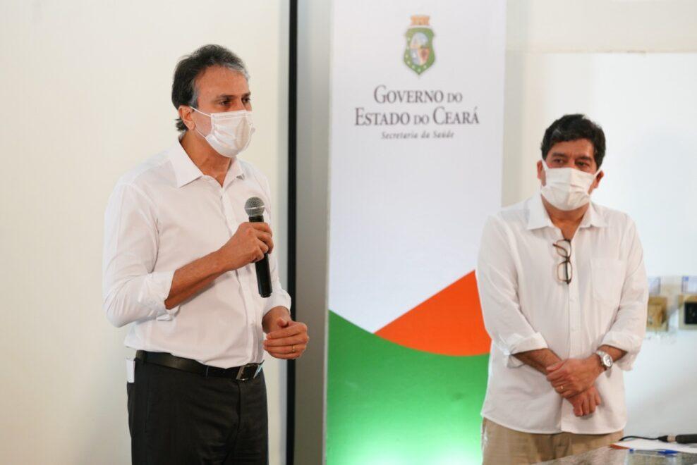 Governador Camilo Santana assina decreto que regulamenta Fundação de Saúde do Ceará