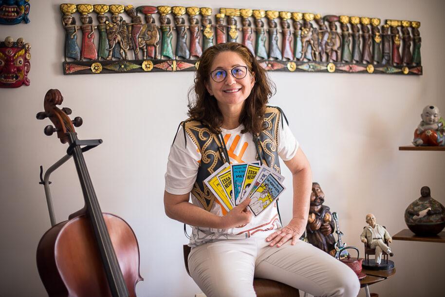 Conheça Paola Tôrres, a médica que assumiu lugar  na Academia Brasileira de Literatura de Cordel