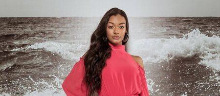 Vencedora do New Faces 2020, Luiza Moura saiu de SP para investir na carreira de modelo no Ceará