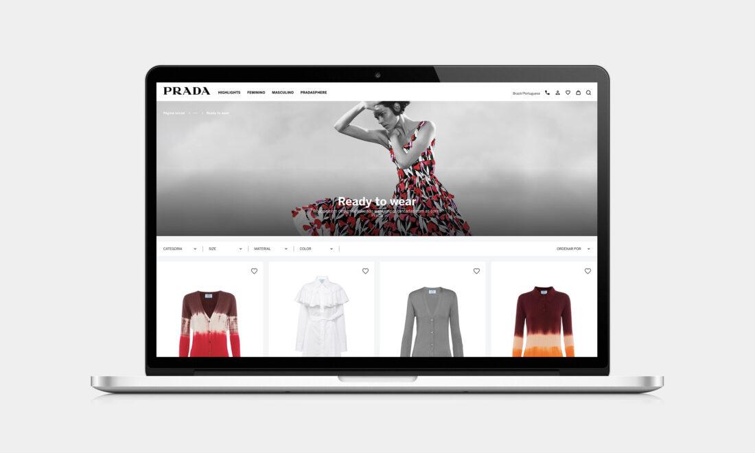 Prada lança e-commerce no Brasil e renova comunicação digital