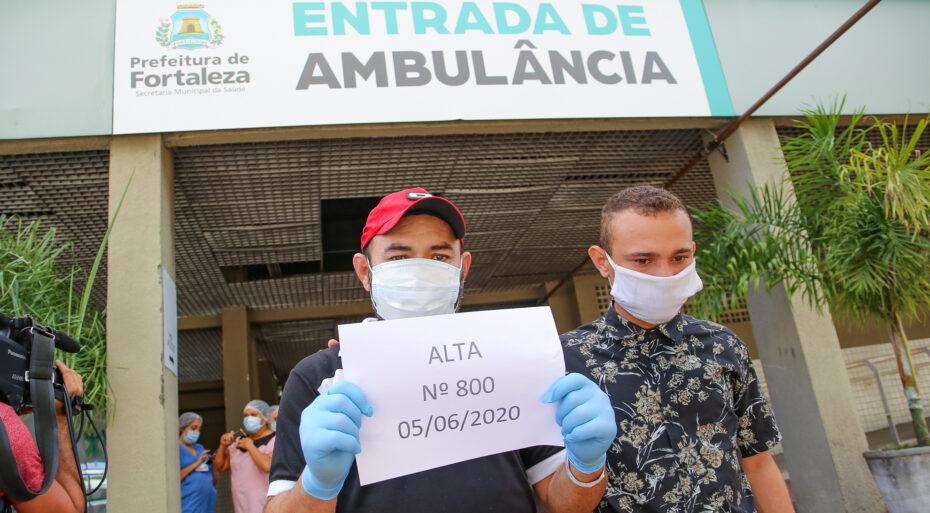 Ceará ultrapassa a marca de 100 mil pacientes recuperados de coronavírus