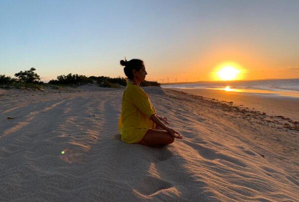 Márcia Travessoni fala sobre semana de meditação guiada por Tadashi Kadomoto