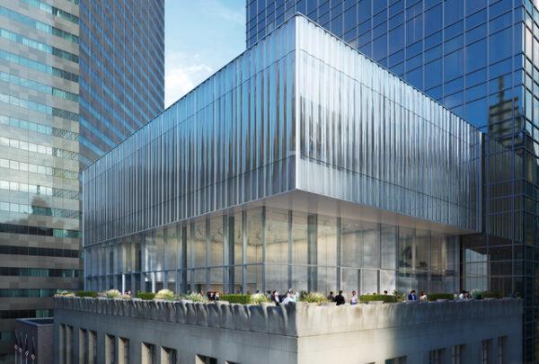 Tiffany & Co. da Quinta Avenida em Nova York está em reforma
