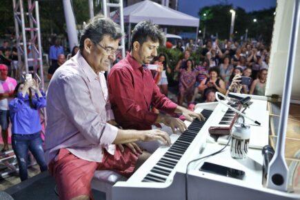 Alexandre Pereira e Felipe Adjafre realizam live em homenagem aos pais