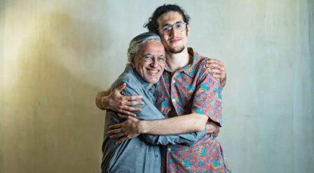 Caetano Veloso lança single com o filho Tom Veloso em live