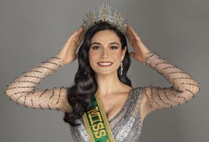 Modelo gaúcha Julia Gama é eleita Miss Brasil 2020
