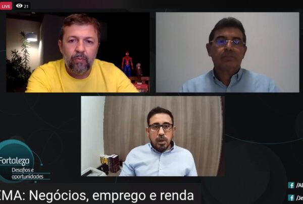 Pré-candidatos à Prefeitura de Fortaleza debatem o futuro econômico da Capital