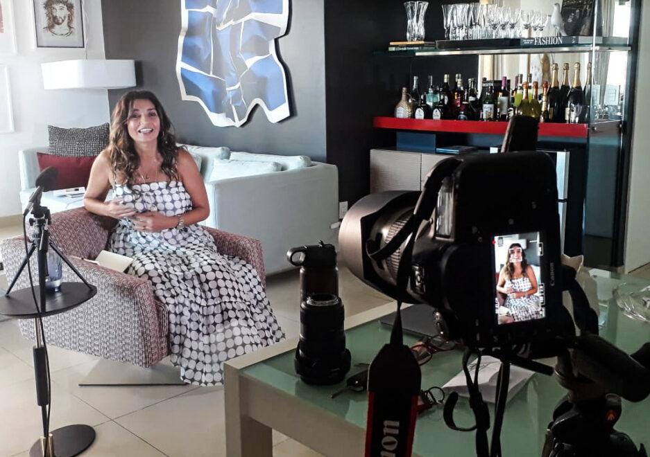 Márcia Travessoni faz curadoria digital de conteúdos no 'Highlights'