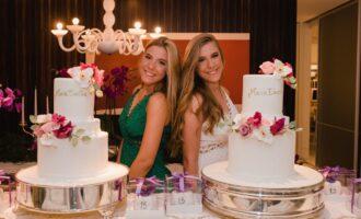 Filhas de Andréa Rios e Alexandre Montenegro ganham festa de 15 anos