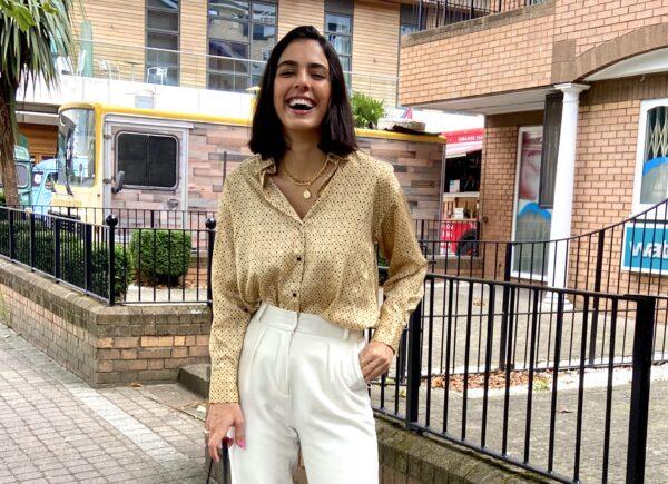 Cearense Odara Fernandes é clicada pela Vogue em Londres