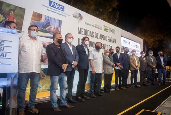 Na Fiec, ministro Rogério Marinho anuncia medidas para o desenvolvimento do Norte e Nordeste