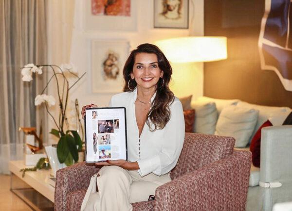Márcia Travessoni lança coluna social 100% digital