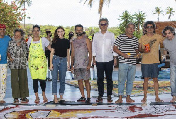 Artistas cearenses personalizam jangadas em celebração ao 10° Encontro Sesc Povos do Mar