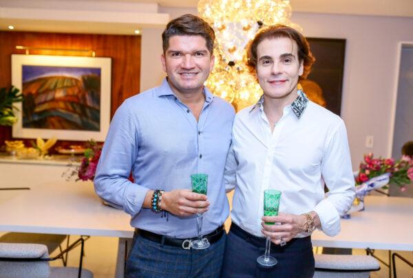 Rodrigo Maia promove jantar para celebrar a presença do amigo David do Carmo; veja fotos