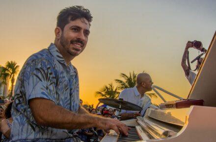 Projeto Pôr do Sol terá Bruno Calaça, Philipe Dantas e Juliana Barreto