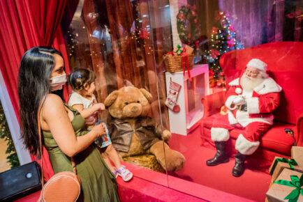 Shoppings RioMar adotam Papai Noel em realidade virtual e cartinha digital