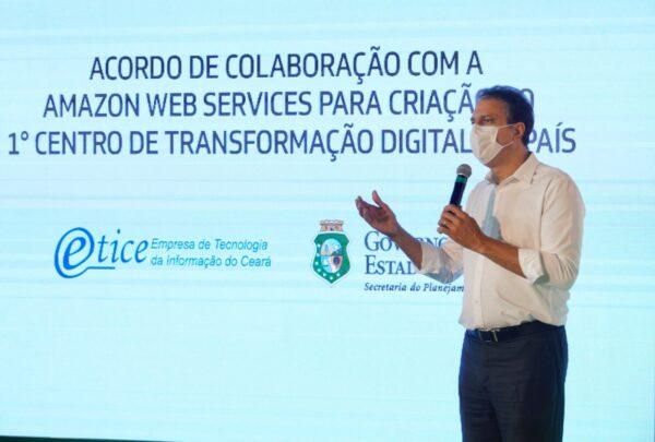 Ceará e Amazon oficializam acordo para criação do primeiro Centro de Transformação Digital do Brasil