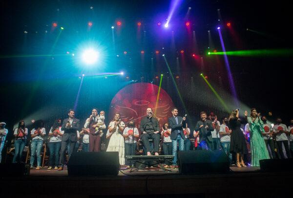 Anjos do Natal 2020: confira os bastidores do espetáculo beneficente