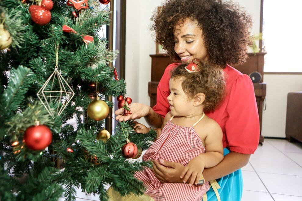 Décor de Natal: Bia Borba personaliza ornamentação tradicional inspirada na filha