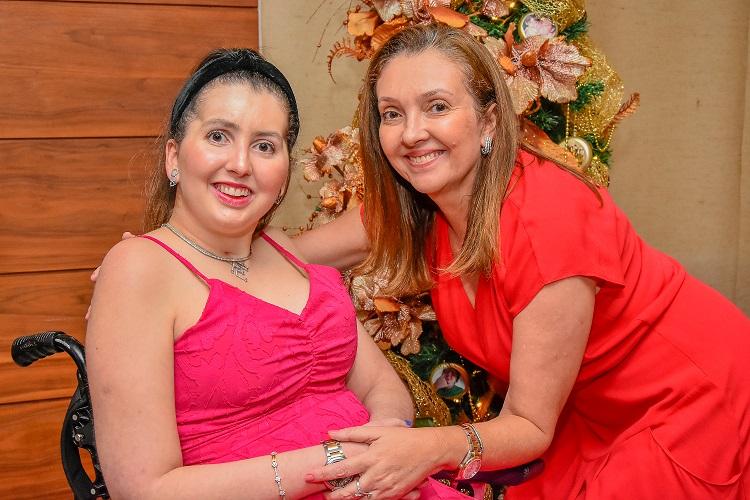 Décor de Natal: Liliam e Juliana Fialho resgatam fotos e momentos em família