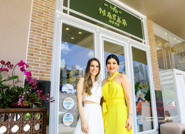 Lia e Lara Linhares inauguram a Matka, especializada em mesa posta