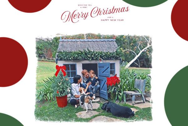 Príncipe Harry e Meghan Markle divulgam cartão de Natal