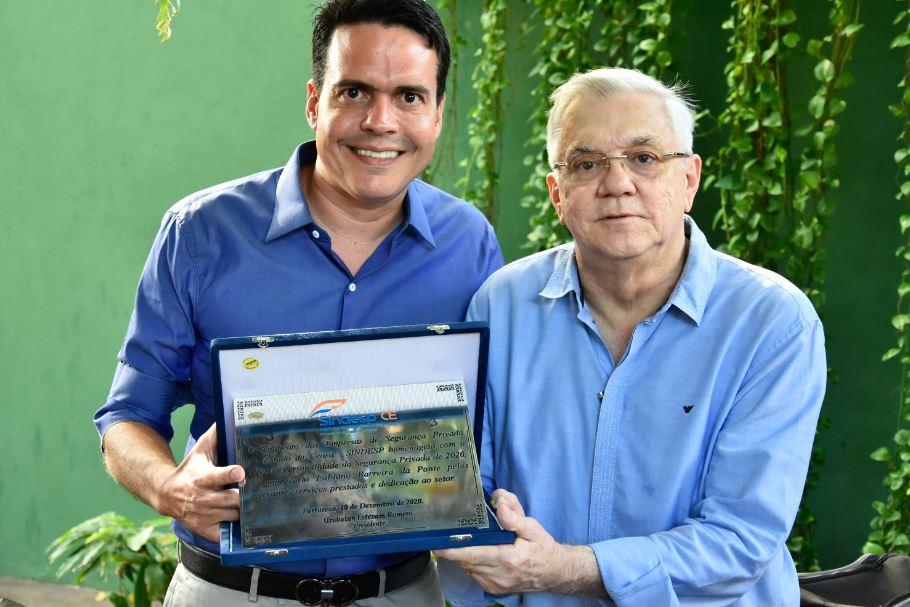 Fabiano Barreira é eleito personalidade do ano pelo Sindesp