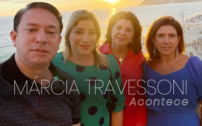Coluna social Márcia Travessoni Acontece 13.01.2021