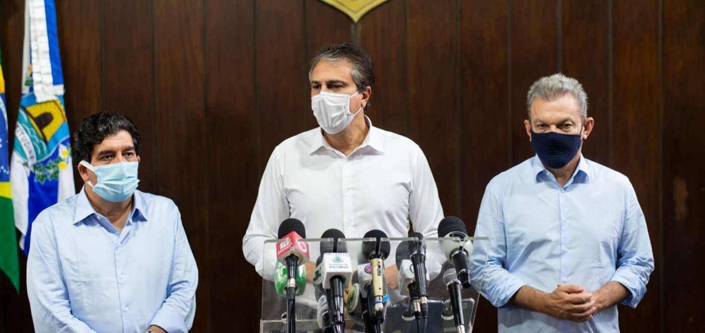 Camilo anuncia retomada de leitos para Covid e aumento da fiscalização contra aglomerações