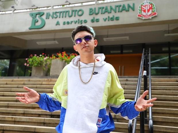 MC Fioti lança clipe 'Vacina Butantan' em homenagem à vacina CoronaVac