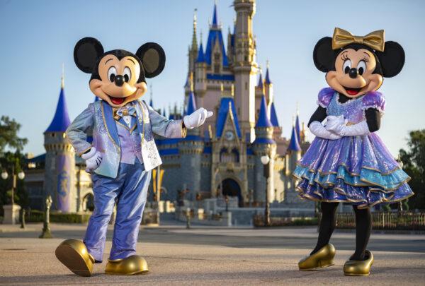 Walt Disney World Resort comemora 50 anos em outubro com programação especial