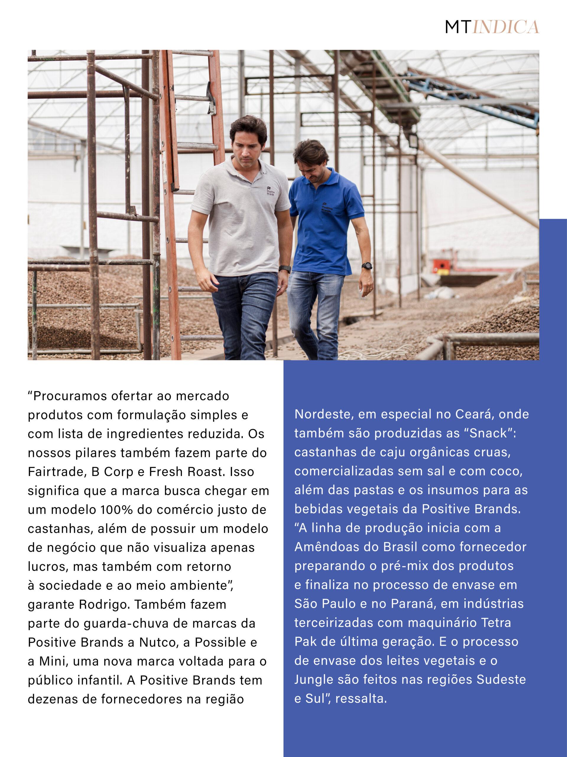 Matéria principal MT Indica 35 Irmãos Carvalho Positive Brands