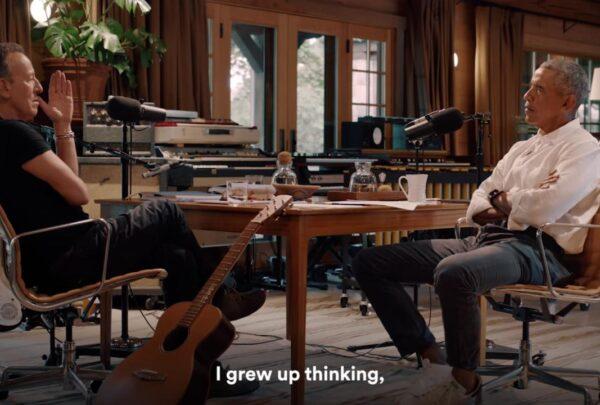 Barack ObamaeBruce Springsteen estreiam podcast no Spotify