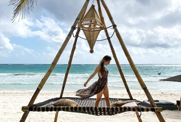 Lara Linhares compartilha fotos de viagem a Tulum e destaca belezas do destino