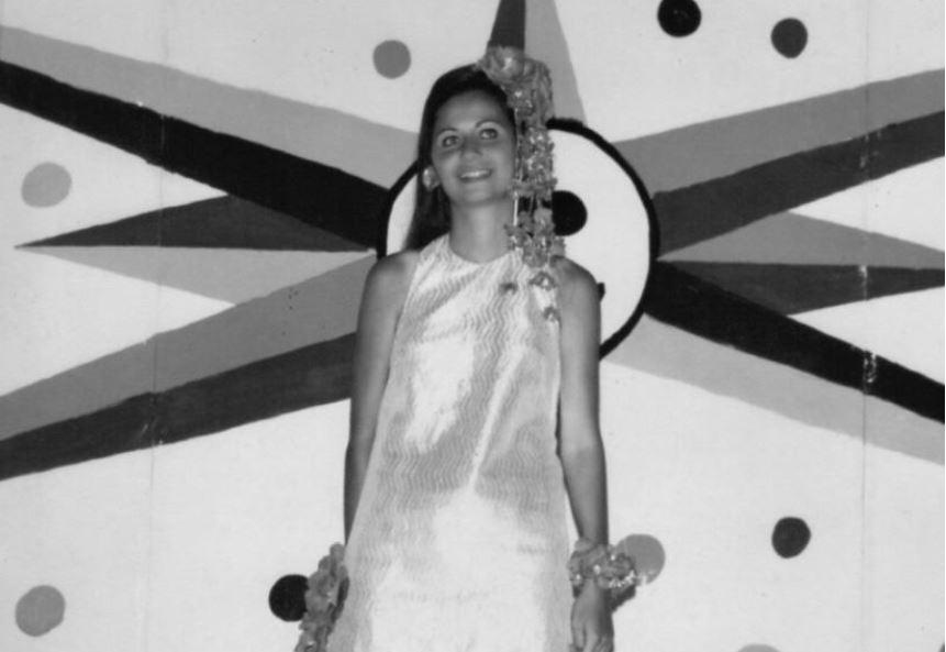 Leninha Campos compartilha fotos de Carnavais antigos nos clubes de Fortaleza