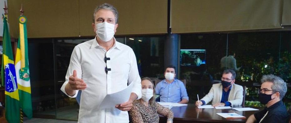 Camilo anuncia auxílio de R$ 1 mil para profissionais do setor de eventos