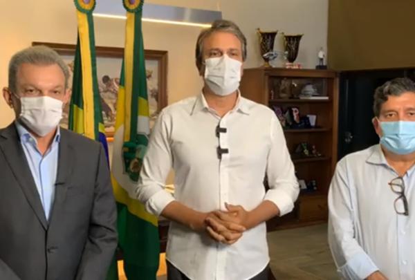 Camilo anuncia suspensão de estabelecimentos não essenciais a partir de 20h em Fortaleza