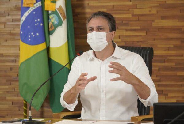 Camilo anuncia toque de recolher no Estado a partir de 22h; medida vale até dia 28
