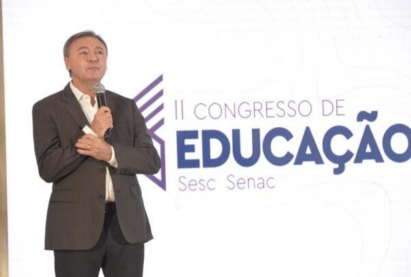 Maurício Filizola abre II Congresso de Educação Sesc Senac; edição conta com mais de 6 mil inscritos