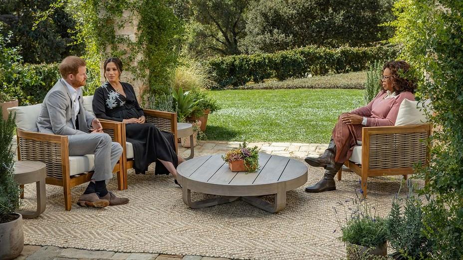 'Você disse coisas muito chocantes aqui', diz Oprah em entrevista com príncipe Harry e Meghan Markle