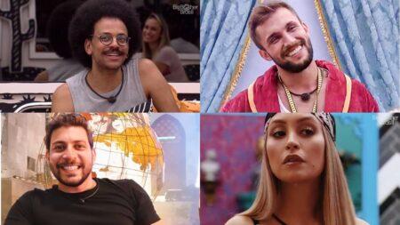 BBB 21: paredão falso é formado por Arthur, Caio, Carla e João