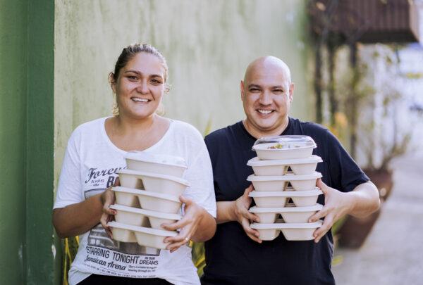 Ticiana Patrício e Rafa Sudatti lançam campanha solidária para ajudar famílias cearenses