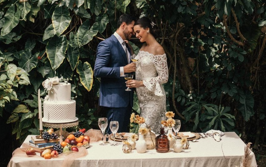 Ticiana Sampaio lança coleção de vestidos para casamentos intimistas